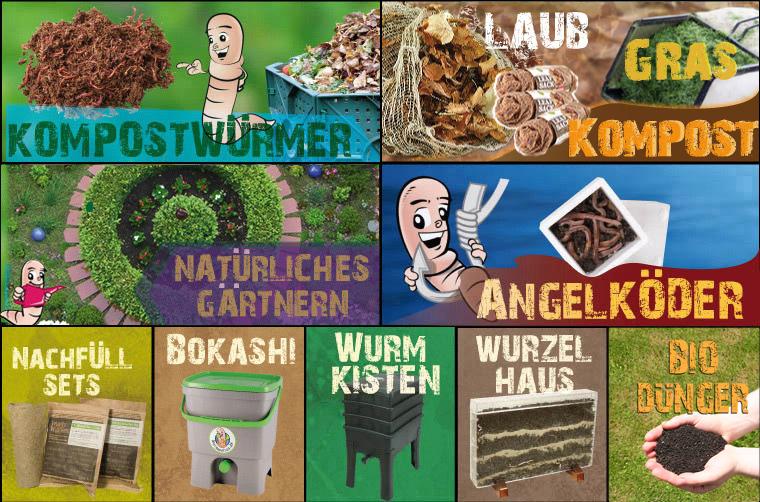 Berliner Kiste Wurmkiste shop für wurmkisten mit kompostwürmern regenwürmer und bokashi