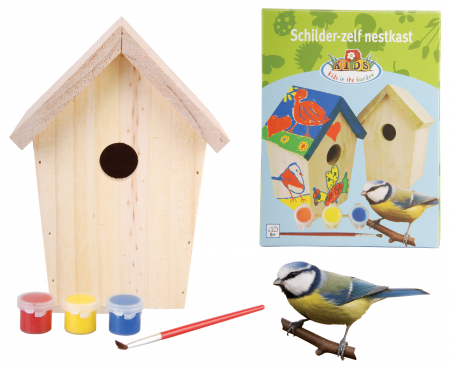 Paint yourself Birdhouse