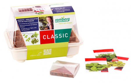 "Aromatic ""3 Herbs"" Greenhouse Set"