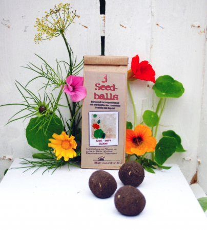 Seedballs Edible Blossoms (Set of 3)