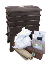 "Wormery ""Worm Cafe"" Value Set with compost worms"